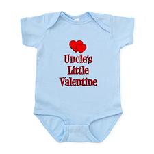Uncles Little Valentine Body Suit
