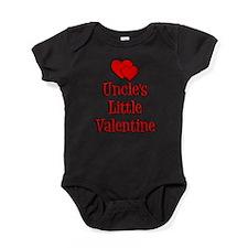 Uncles Little Valentine Baby Bodysuit