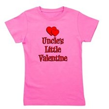 Uncles Little Valentine Girl's Tee