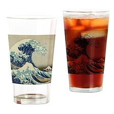 Great Wave off Kanagawa, Japanese a Drinking Glass