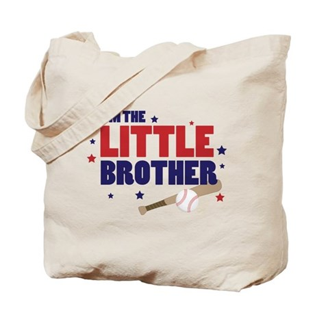 little brother baseball Tote Bag