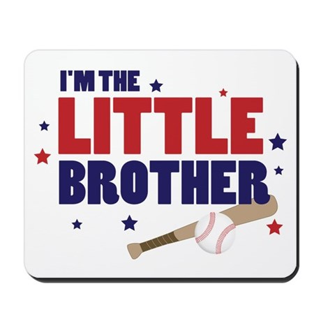 little brother baseball Mousepad
