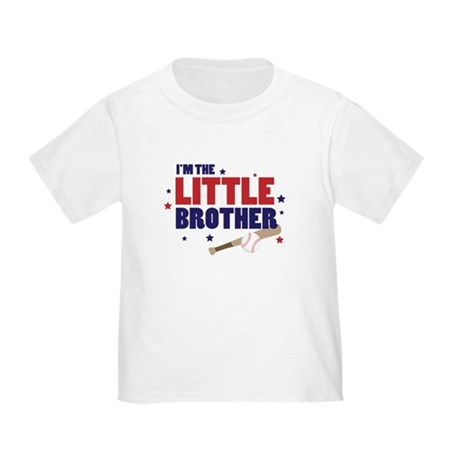 little brother baseball Toddler T-Shirt