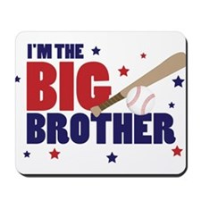 big brother baseball Mousepad