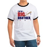 ADULT SIZES - big brother baseball T