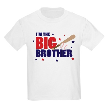 big brother baseball Kids Light T-Shirt