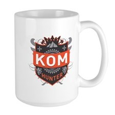 KOM Hunter Mugs