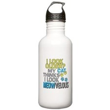 Funny Birthday - Cat Water Bottle