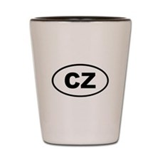 Czech Republic CZ Shot Glass