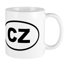 Czech Republic CZ Mugs