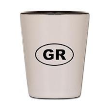 Greece GR Shot Glass