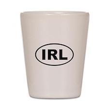 Ireland IRL Shot Glass