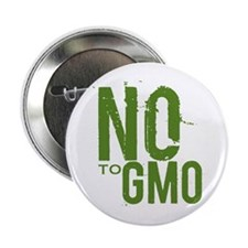"Say NO to GMO 2.25"" Button"
