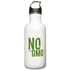 Say NO to GMO Water Bottle