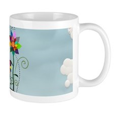 Whimsical Flowers Mug