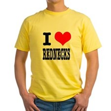 I Heart (Love) Rednecks T