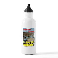 Vintage Car Race Water Bottle