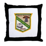 Riverside County Sheriff Throw Pillow