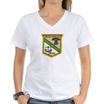 Riverside County Sheriff Women's V-Neck T-Shirt