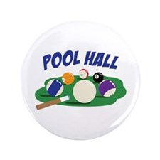 "POOL HALL 3.5"" Button"