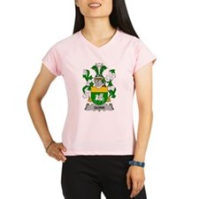Quinn Family Crest Performance Dry T-Shirt
