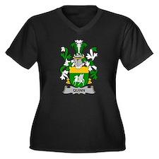 Quinn Family Crest Plus Size T-Shirt