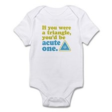Acute Triangle Infant Bodysuit