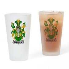 Reilly Family Crest Drinking Glass