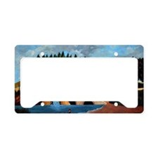 Rousseau - The Mill License Plate Holder