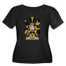 Shaw Family Crest Plus Size T-Shirt