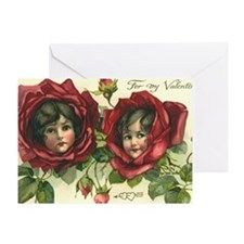 Vintage Valentine's Day Greeting Card