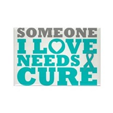 PCOS Needs A Cure Rectangle Magnet (10 pack)