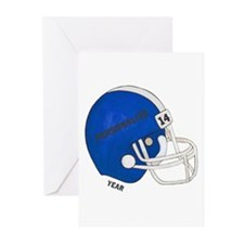 Football Helmet Greeting Cards (Pk of 20)