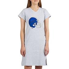 Football Helmet Women's Nightshirt