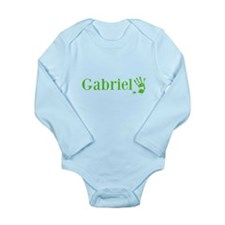 Green Gabriel Name Body Suit