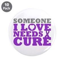 "Lupus Needs A Cure 3.5"" Button (10 pack)"
