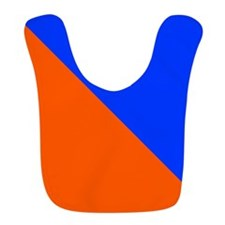 Orange And Blue Halves Bib