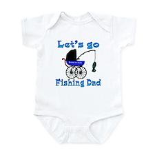 Lets go fishing buggy Infant Bodysuit