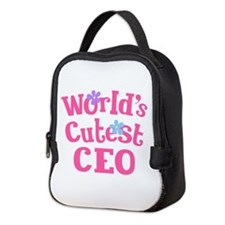 Worlds Cutest CEO Neoprene Lunch Bag