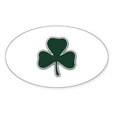 Irish Lucky Shamrock Decal