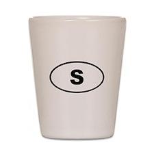 Sweden S Shot Glass