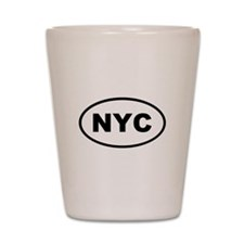 NYC New York City Shot Glass