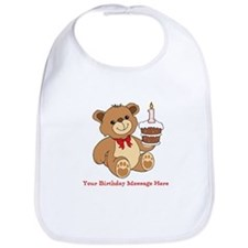 My 1st Birthday Bib