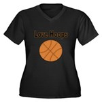 Love Hoops Plus Size T-Shirt