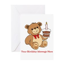 My 1st Birthday Greeting Cards