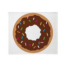 Doughnut Throw Blanket