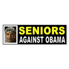 OBAMA SENIORS BUMPER_001 Bumper Bumper Sticker