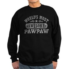 World's Most Awesome PawPaw Sweatshirt