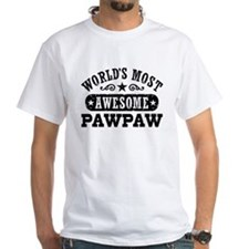 World's Most Awesome PawPaw Shirt