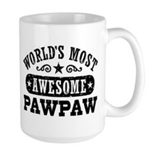 World's Most Awesome PawPaw Mug